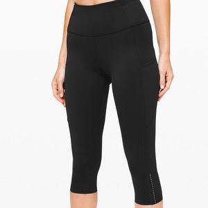 Lululemon Fast And Free High-rise Crop *nulux